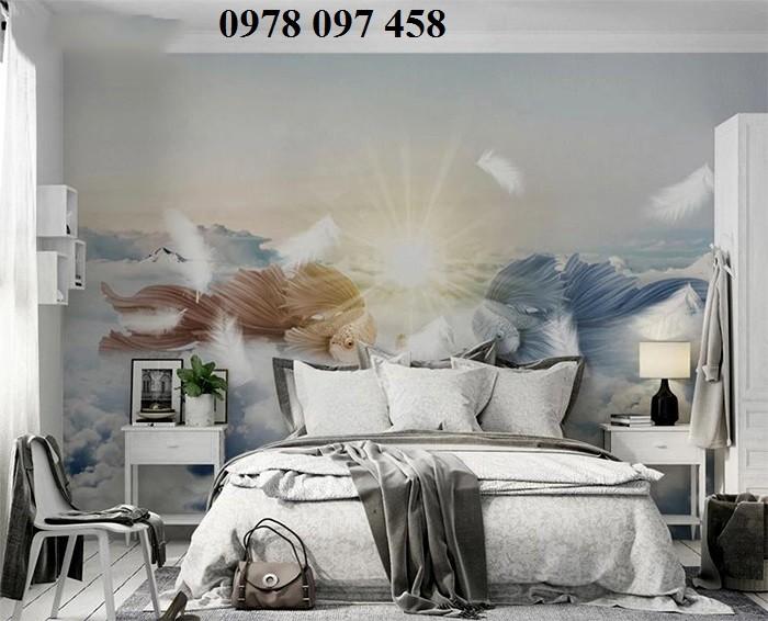 Tranh ốp phòng ngủ- tranh nghệ thuật1