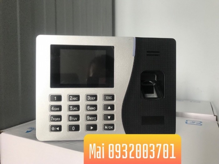 Máy chấm công vân tay Ronal Jack W200 (Tặng phí lắp đặt + phần mềm chấm công)0
