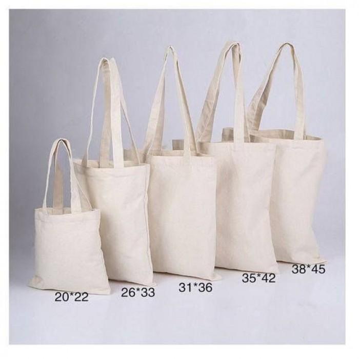 Túi tote vải canvas vải bố, túi tote quà tặng4