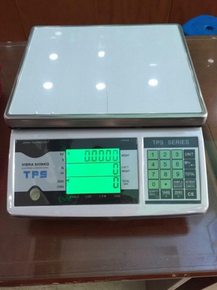 Cân điện tử VIBRA TPSC - Cân đếm số lượng 3kg 6kg 15kg 30kg0