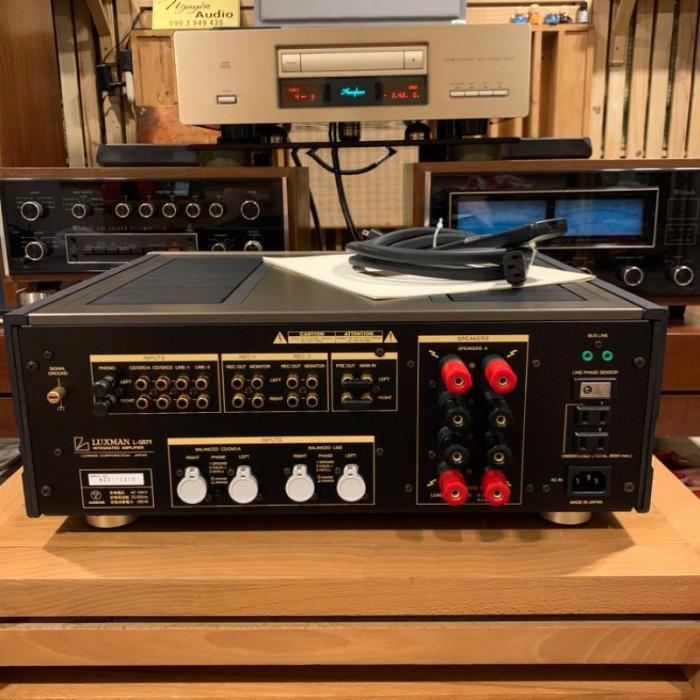 Ampli : Luxman L-507F ( gold)