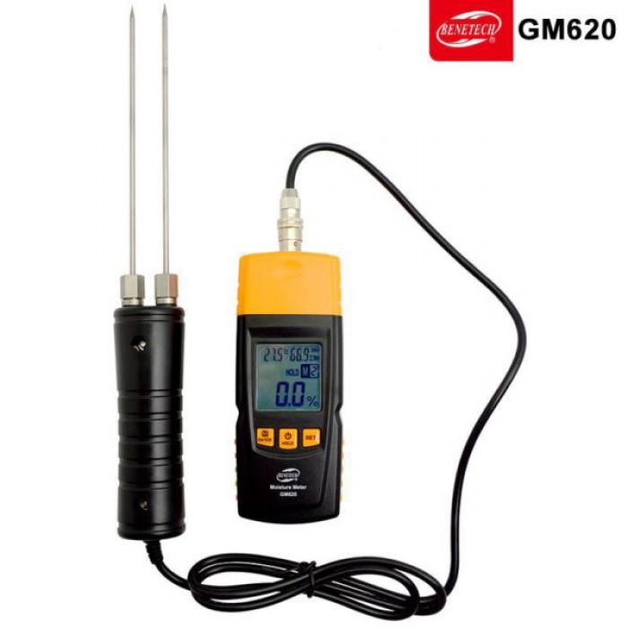 Máy đo độ ẩm gỗ Benetech GM6200