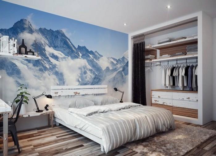 Gạch tranh 3D ốp tường phòng ngủ2