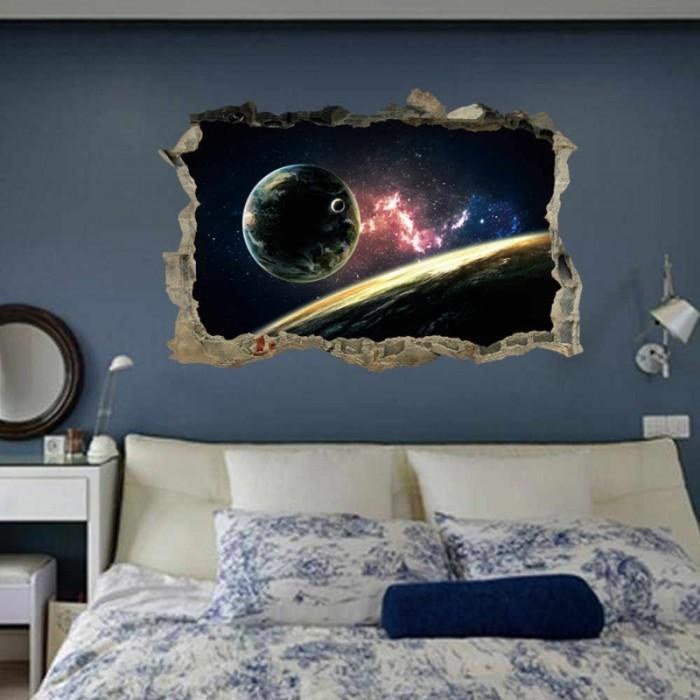 Gạch tranh 3D ốp tường phòng ngủ9