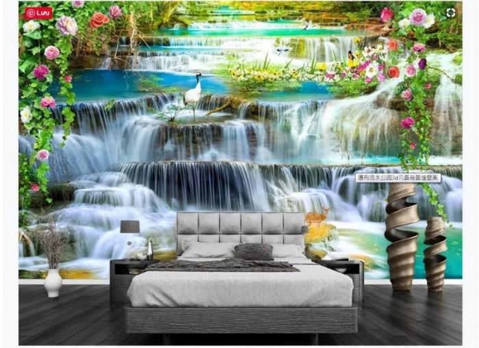 Gạch tranh 3D ốp tường phòng ngủ10