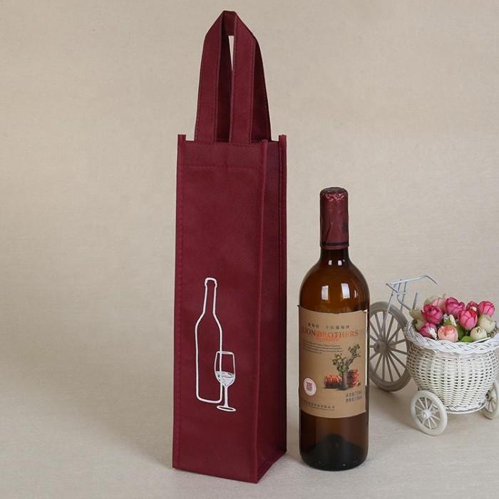 May túi vải đựng rượu in logo theo yêu cầu số lượng lớn5