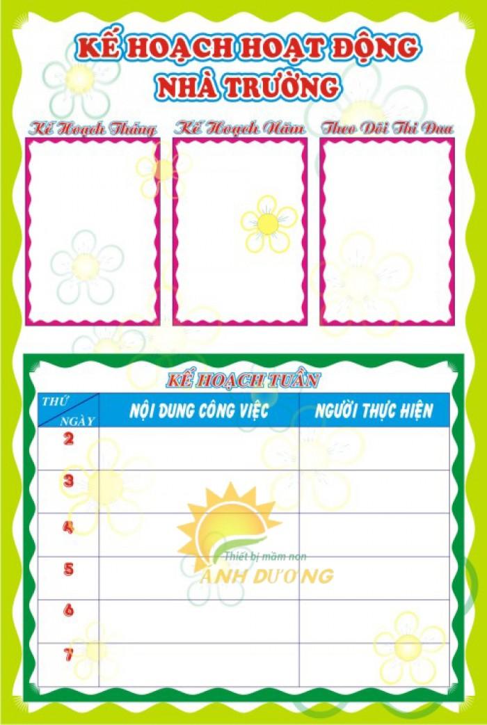 Chuyên nhận thiết kế bảng biểu, bảng tuyên truyền cho trường lớp mẫu giáo15