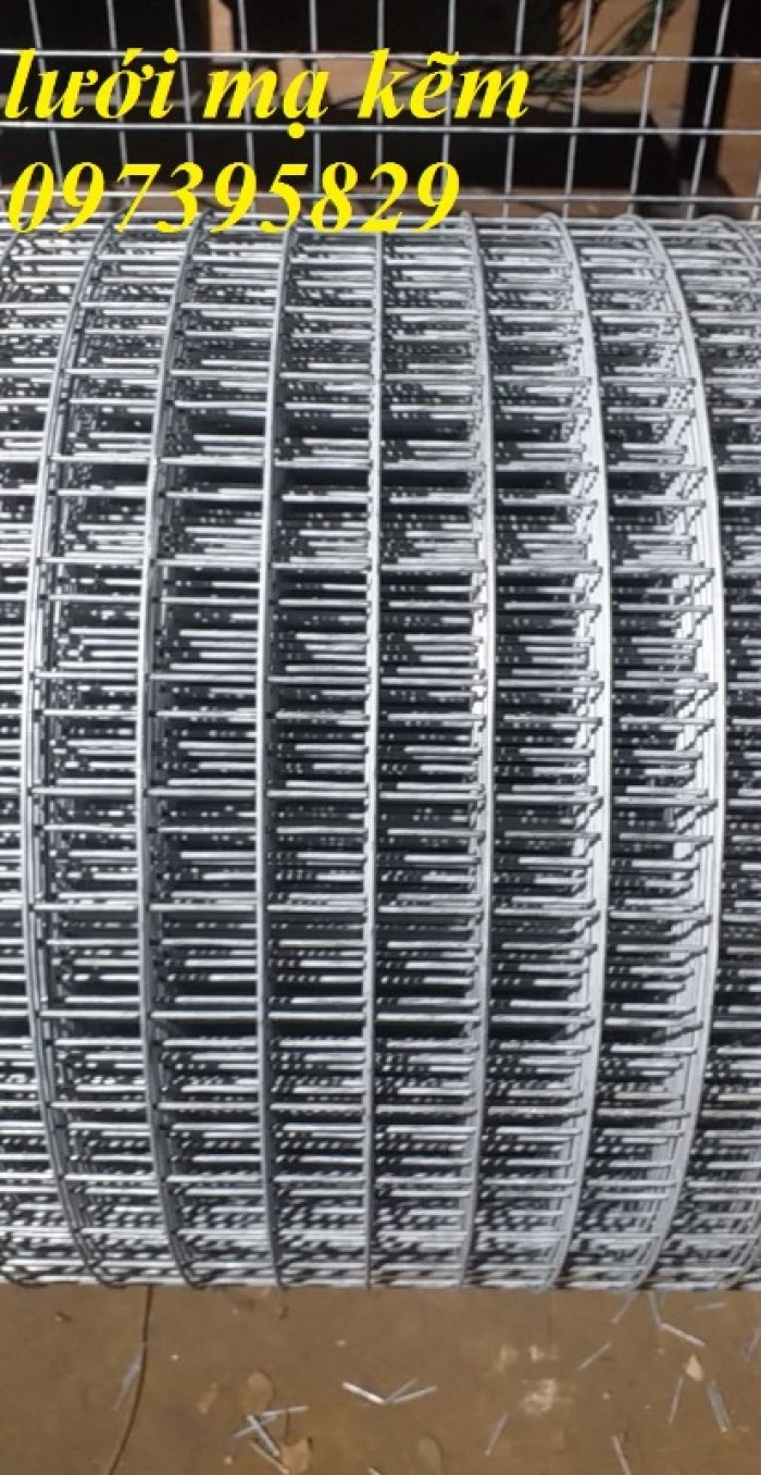 Lưới hàn mạ kẽm điện phân Phi 2 , Phi 2,5 , Phi 2.8,Phi 3 , Phi 4 giá ưu đãi3