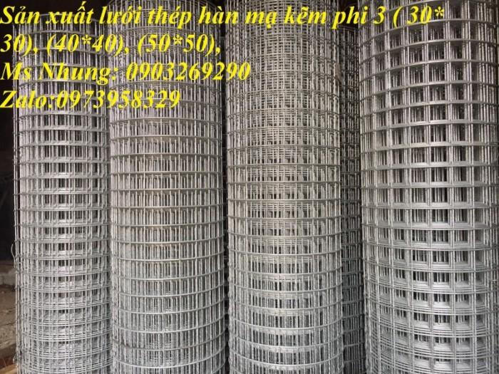 Lưới hàn mạ kẽm điện phân Phi 2 , Phi 2,5 , Phi 2.8,Phi 3 , Phi 4 giá ưu đãi7