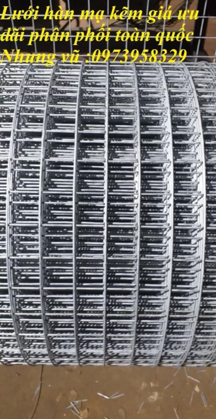 Lưới hàn mạ kẽm điện phân Phi 2 , Phi 2,5 , Phi 2.8,Phi 3 , Phi 4 giá ưu đãi23