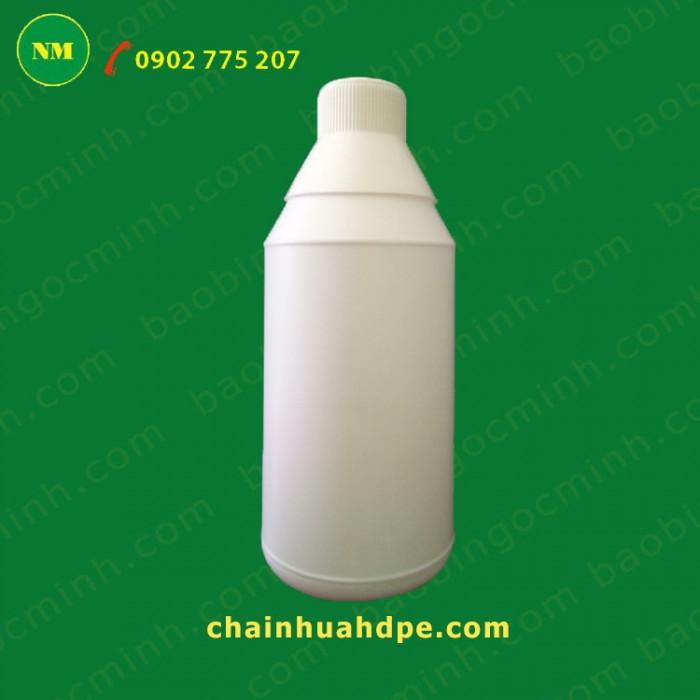 Chai nhựa hdpe, Chai nhựa 500ml, chai nhựa đựng nông dược, chai nhựa 1 lít.17