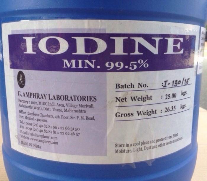 PVP IODINE- iodine 12%, iodine 99,5%0