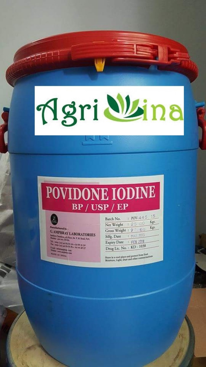 PVP IODINE- iodine 12%, iodine 99,5%1