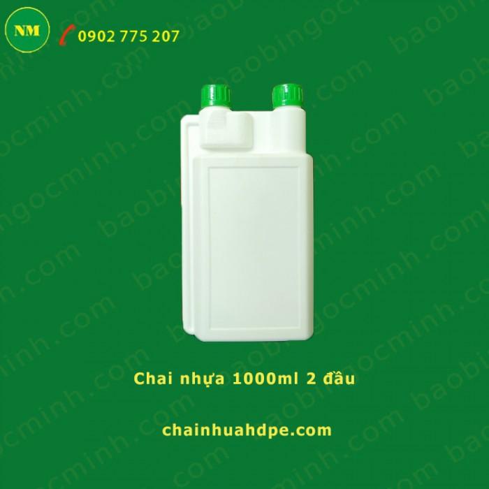 Hủ nhựa 500gr, hủ 2 ngấn, hủ nhựa 1kg đựng bột, hủ nhựa 1kg đựng men vi sinh.11