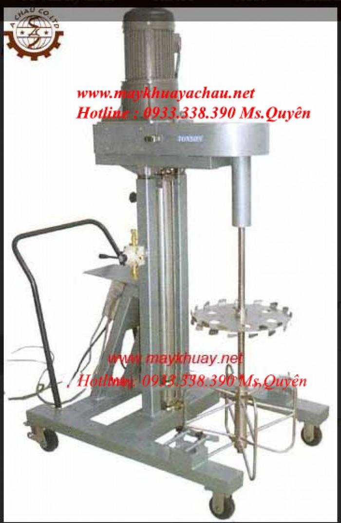 Máy khuấy dung dịch 500 lít 75HP-AC-D-040