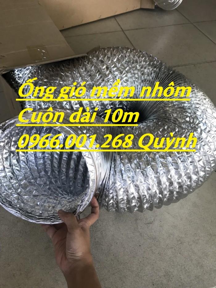Ống gió nhôm hay còn gọi ống gió mềm nhôm phi 100,phi 200,phi 300,giá rẻ8