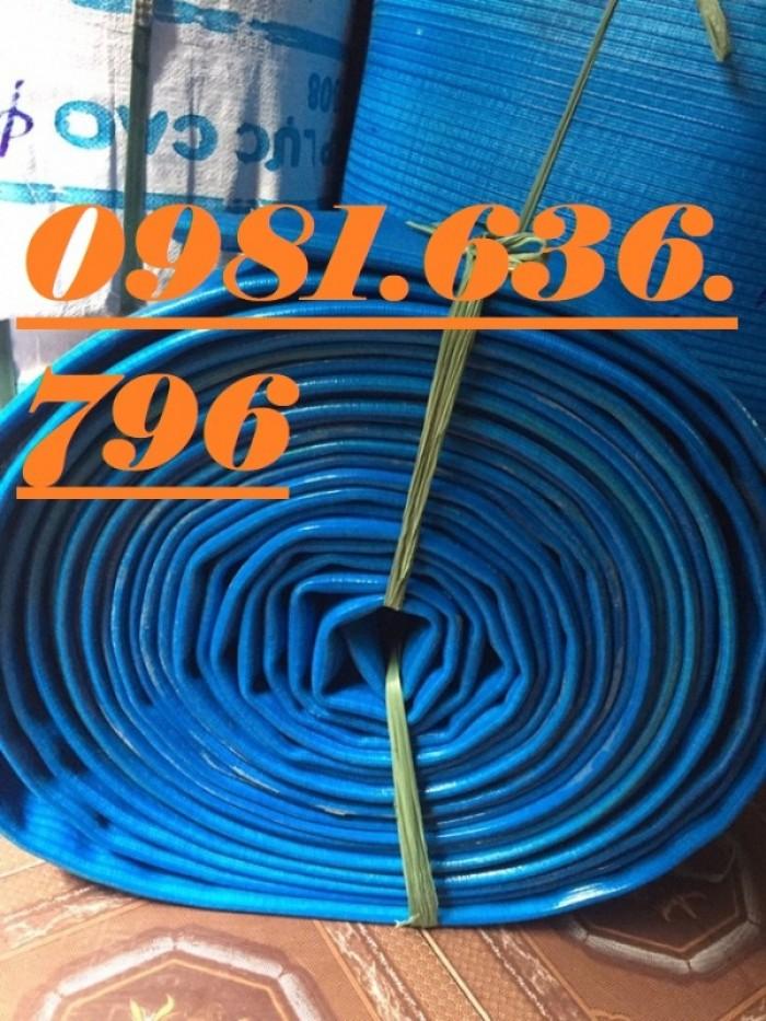 Chuyên bán ống bạt cốt dù, ống bạt PVC bơm nước, cát, sỏi