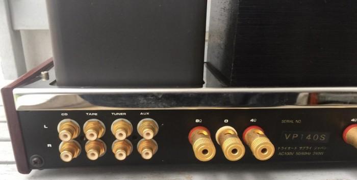 Ampli TRIODE model TRI VP-140s0