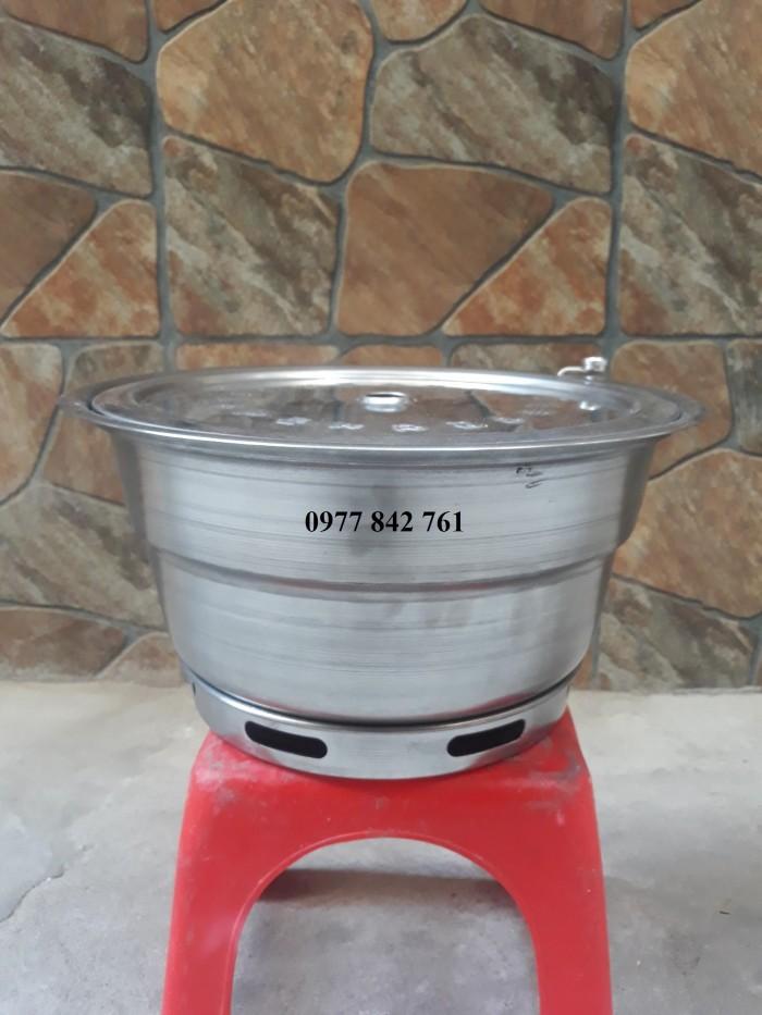 Bếp nướng không khói Hàn Quốc Hút Dương2