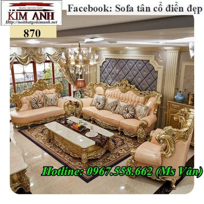 sofa cổ điển biệt thự 5