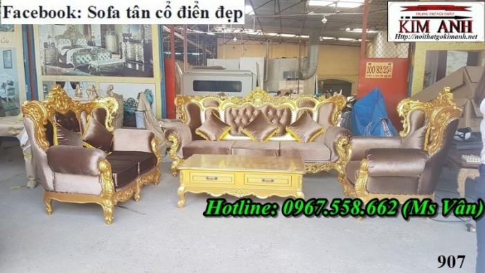 xưởng sản xuất sofa tân cổ điển 6