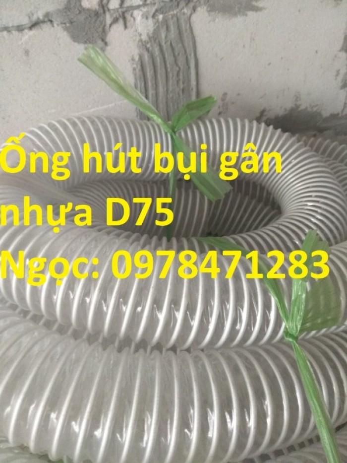 Tổng kho ống hút bụi lõi thép, ống gió bụi trắng giá siêu rẻ8