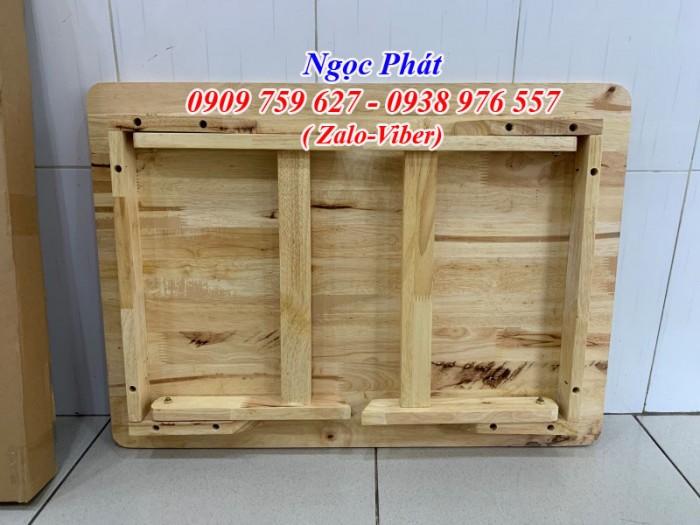 Bàn ngồi bệt 70x50cm chân thang -  Bàn gỗ xếp - Ngọc Phát2