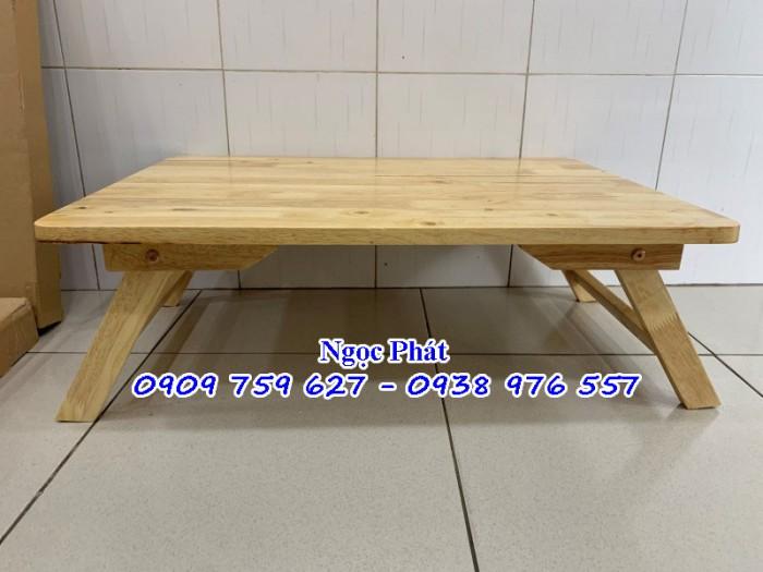 Bàn ngồi bệt 70x50cm chân thang -  Bàn gỗ xếp - Ngọc Phát13