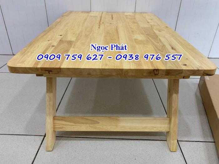 Bàn ngồi bệt 70x50cm chân thang -  Bàn gỗ xếp - Ngọc Phát15