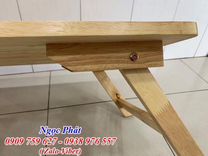 Bàn ngồi bệt 70x50cm chân thang -  Bàn gỗ xếp - Ngọc Phát14