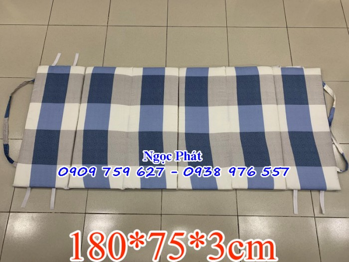Nệm ngủ trưa văn phòng loại lớn 180x75cm - Nệm văn phòng5