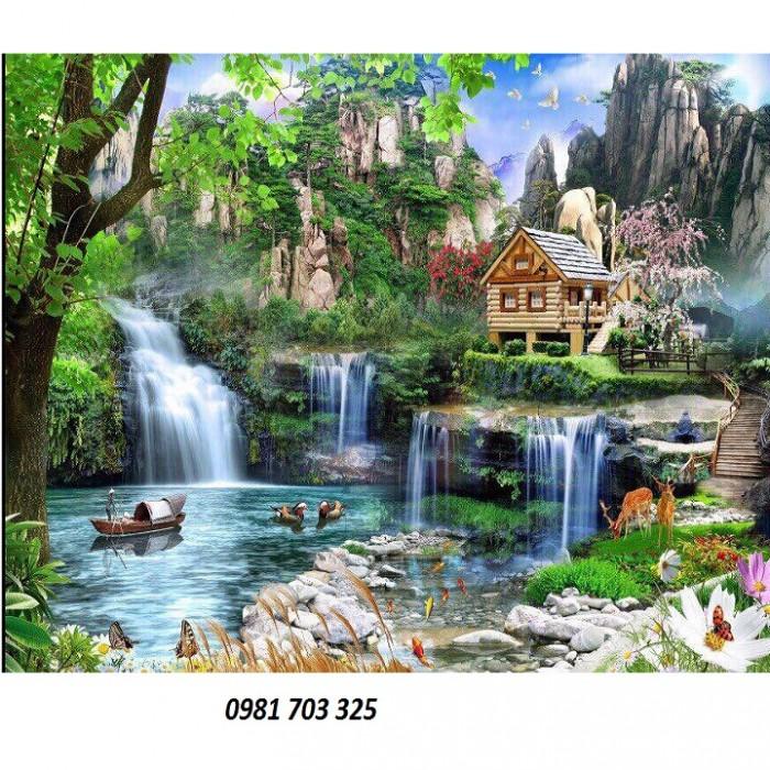 Tranh gạch phong cảnh trang trí9