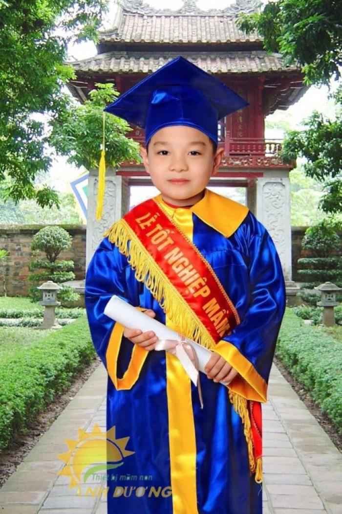 Chuyên đồng phục tốt nghiệp dành cho trẻ nhỏ mầm non giá rẻ, chất lượng cao7