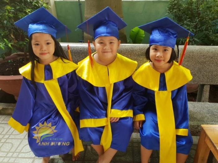 Chuyên đồng phục tốt nghiệp dành cho trẻ nhỏ mầm non giá rẻ, chất lượng cao5