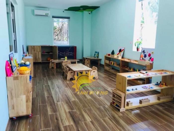 Cung cấp bàn ghế gỗ trẻ em cho trường lớp mầm non, gia đình giá ƯU ĐÃI