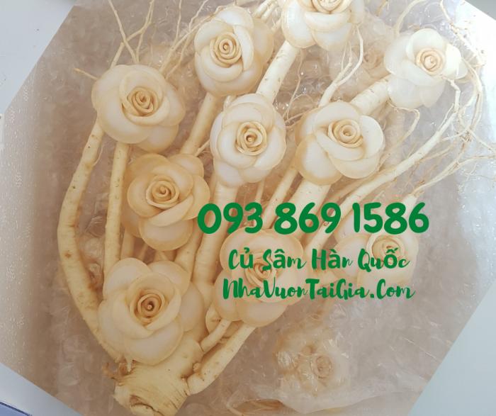 • Mua sâm tươi Hàn Quốc TPHCM -giá Nhân sâm Hàn Quốc  - gọi  093 869 15863