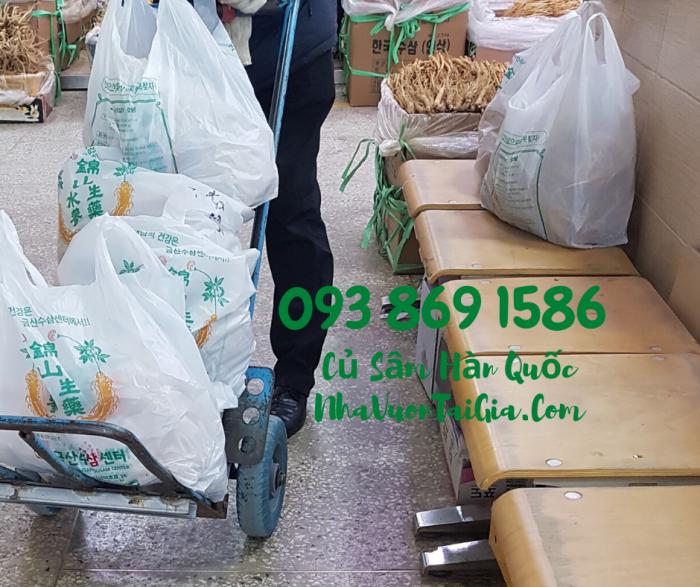 • Mua sâm tươi Hàn Quốc TPHCM -giá Nhân sâm Hàn Quốc  - gọi  093 869 15864