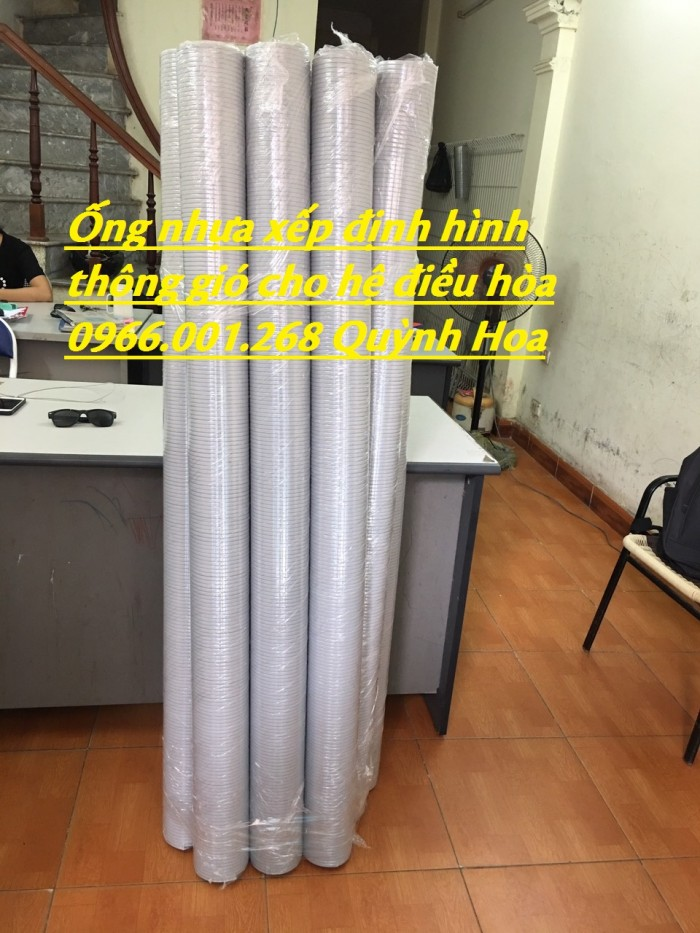 Ống nhựa định hình,ống nhựa xếp,ống nhựa thông gió điều hòa ,giá rẻ1
