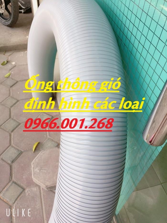 Ống nhựa định hình,ống nhựa xếp,ống nhựa thông gió điều hòa ,giá rẻ3