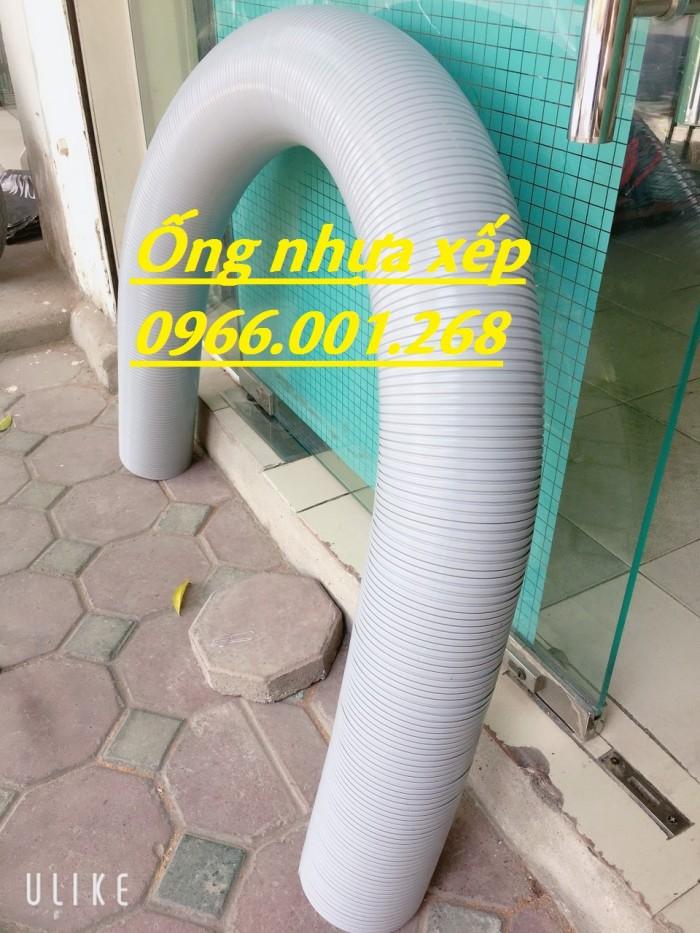 Ống nhựa định hình,ống nhựa xếp,ống nhựa thông gió điều hòa ,giá rẻ5