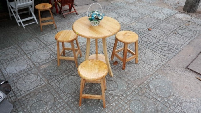 Bàn ghế  gỗ cóc mẫu mới nhất hiện nay2