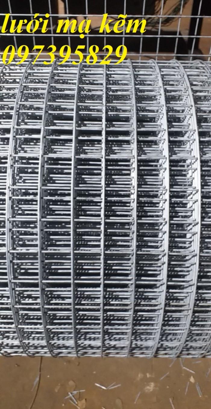 Bán lưới thép mạ kẽm điện phân Phi 4 ( 50*50) giàn lan , hàng rraof1