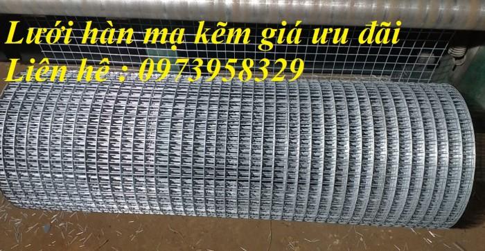 Bán lưới thép mạ kẽm điện phân Phi 4 ( 50*50) giàn lan , hàng rraof2