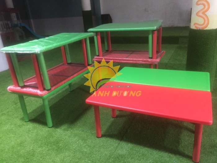 ????????Bàn ghế nhựa - gỗ mầm non giá rẻ như thanh lý - chất lượng cực tốt9