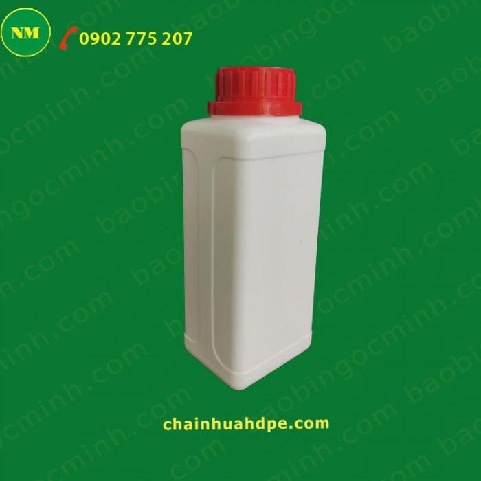 Chai nhựa vuông 500ml 9