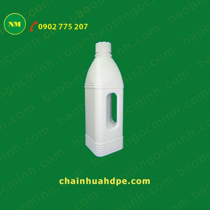 chai nhựa có quay cầm 1 lít đựng hóa chất. 10