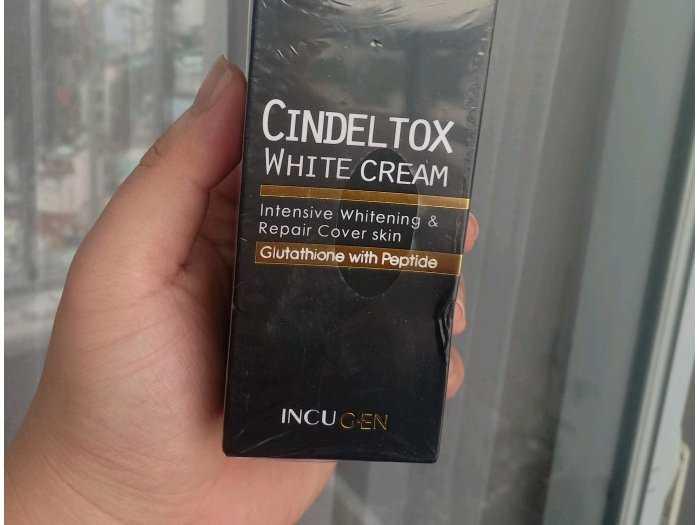 Kem truyền trắng cindel tox1