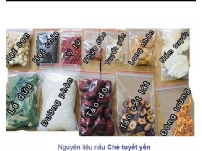 Set chè dưỡng nhan đặc biệt cao cấp 13 v3