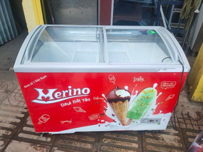 Tủ đông kem Merino 400L0