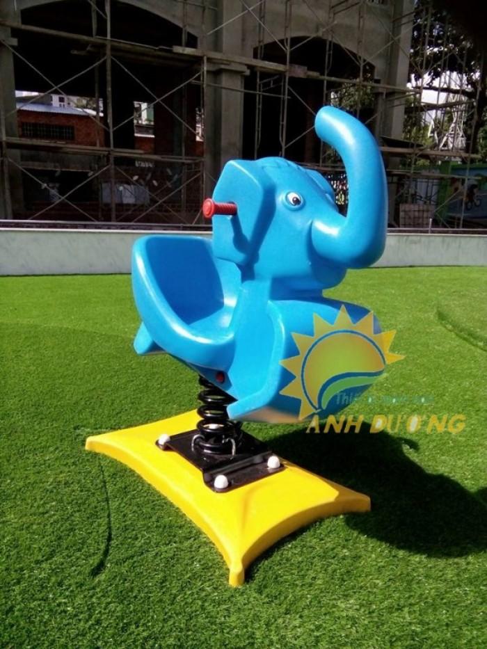 Chuyên cung cấp thú nhún lò xo cho trường mầm non, sân chơi trẻ em, công viên5